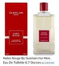 Guerlain Habit Rouge 6.7 oz Eau de Toilette / Cologne Spray for Men, NEW, SEALED
