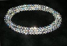 SET OF THREE Swarovski Crystal Bacelets!!! Stunning Sparkle!