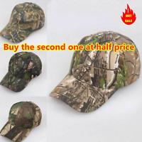 Hunting Camouflage  Fishing Camo Military Tactics Army Sun Hat Men Baseball Cap