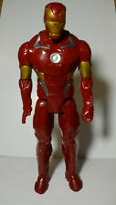 "Iron Man 12"" Action Figure Marvel Avengers Red Gold 2013 Comic Toy Tony Stark"