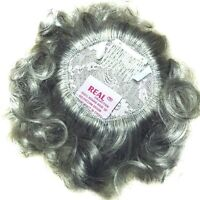 "Small Wavy Hair Enhancer Top Pageant Piece Wiglet Topper - 100% Human Hair 6"""