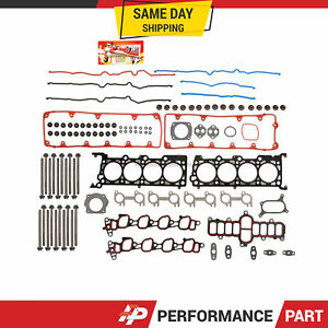 Head Gasket Bolts Set for 02-11 Ford Crown Victoria Lincoln Mercury 4.6 SOHC 9VW