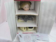 """M'lissa Virginia"" Toddler, Marie Osmond Porcelain Doll Le 1659/3000 Mib Signed"