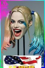 1/6 Harley Quinn head Suicide Squad for hot toys Phicen verycool ❶USA IN STOCK❶