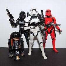 """Loose Star Wars The Black Series 6"""" Imperial Forces Action Figure Set"""