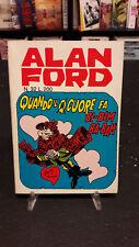 """Alan Ford #32 """"Quando il Cuore Fa Bi-Bim Ba-Bam"""" Magnus Bunker 1° ed. Corno"""