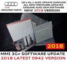 Audi Q5 Q7 MMI 3G+ Genuine S/W SD Card 0942 2017/18 Maps 6.25.3 Full Pack