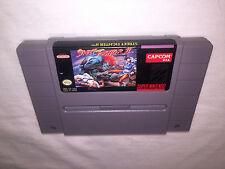 Street Fighter II: The World Warrior (Super Nintendo SNES) Game Cartridge Exc!
