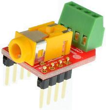 3.5mm 4 pin stereo audio jack breakout board eLabGuy AJ-BO-V1B