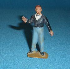 156A Jouet ancien Starlux plastique Figurine Cirque Monsieur Loyal 1/32