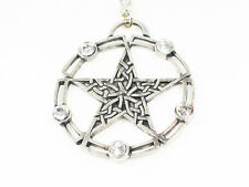 Celtic Pentagram Circle of Life Pendant