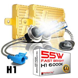 Heavy Duty 55W H1 6000K Fast Bright AC Digital HID Xenon Kit Headlight Fog-light