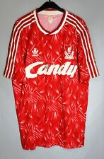 LIVERPOOL ENGLAND 1989/1991 HOME FOOTBALL SHIRT JERSEY VINTAGE ADIDAS REPLICA