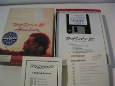 Test Drive III The Passion PC game complete 3.5' disk Accolade