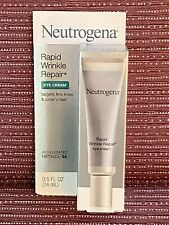 Neutrogena Rapid Wrinkle Repair Eye Cream 0.5oz NEW IN BOX