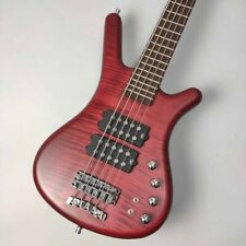 Warwick: Electric Bass Teambuilt Corvette $$ 5st Burgundy Red