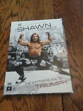 The Shawn Michaels Story Heartbreak &triumph 3 Disc Set Wwe Dvd