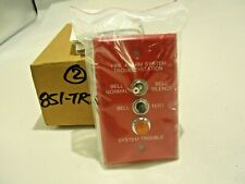 NEW NATIONAL TIME & SIGNAL 851-TRT FIRE ALARM SYSTEM TROUBLE STATION
