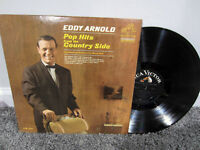 "EDDY ARNOLD Pop Hits from the Country Side 12"" Vinyl Record Album LP Original"