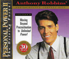 ANTHONY ROBBINS - Moving Beyond Procrastination to Unlimited Power - CD Audio