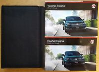 GENUINE VAUXHALL INSIGNIA Mk1 OWNERS MANUAL HANDBOOK 2013-2017 NAVI AUDIO PACK