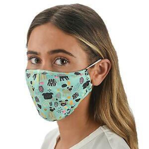 Pug Dog Lovers Gift - Quality Pug Face Mask with Filter pocket