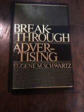 Eugene M Schwartz Breakthrough Advertising - 1984 EDITION -  VERY RARE BOOK!