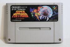 Super Metroid Small Wears SFC Nintendo Super Famicom SNES Japan Import US Seller