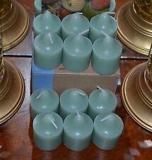 Partylite 1 Dz White Cedar Leaf Votives Brand New Supply!