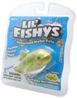 Lil Fishy Bubba Electronic Fish Aquarium Ages 3+ Toy Boys Girls Water Pet Gift