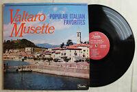 Valtaro Musette, Popular Italian Favorites, Vinyl LP, Fiesta Records