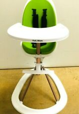 Hot Mom TableFit High Chair With Removable Tray and Soft Insert 360 Degree Green