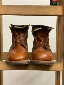 Red Wing Shoes Beckman 9016 Leather 6-Inch Boots SIZE 11.5 D Made In USA