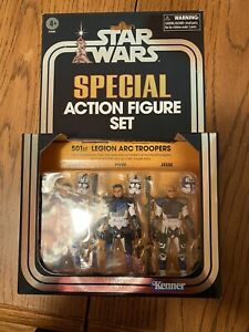 *IN HAND* Star Wars The Vintage Collection Clone Wars 501st Legion ARC Troopers