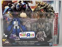 Transformers The Last Knight OPTIMUS PRIME & GRIMLOCK