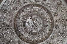 19th Century Bronze Plate Highly Decorated Classical Scenes, Grand Tour, c 1870