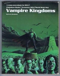 Vampire Kingdoms: World Book 1 (Rifts 1991 Palladium Books #802)
