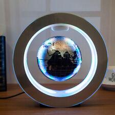Magnetic Floating Globe Levitation Maglev World Map Ball LED Light Decor Educate