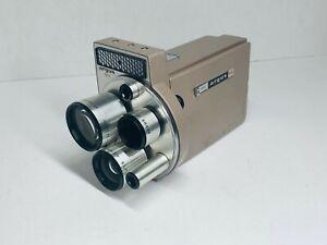 Vintage ARGUS M3 Cinetronic 8MM Automatic Turret Movie Camera