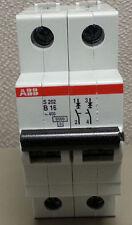 ABB S202-B16 Mini Circuit Breaker Amperage Rating 16 Pole 2 480V **Brand New**