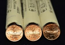 Grèce 2005 2006 2007 : 3 pièces de 1 cent de rouleaux