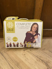 Lillebaby Baby Carrier 6-in-1 Positions Newborn And Toddler with box