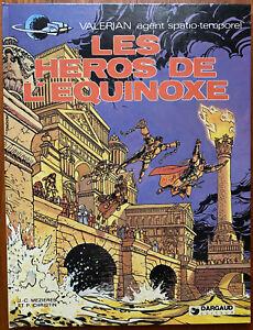 VALÉRIAN T 8 Les Héros de l'Équinoxe 1978 Christin Mézières EO 1ère édition