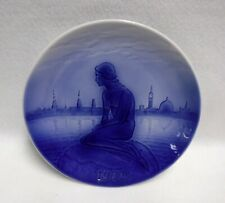 Desiree Denmark Svend Jensen Christmas Plate 1972 Little Mermaid - 7-1/2""