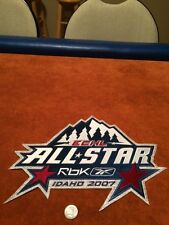 2007 ECHL All Star Idaho RBK Official Stitched Hockey Crest Patch 12 X 9.5 inch