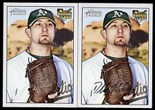 2007 Bowman Heritage #232 Dallas Braden SP