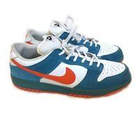 Nike Dunk SB EMB 2006 Sneakers 311689 181 Mens Sz 12 Green/orange colorway
