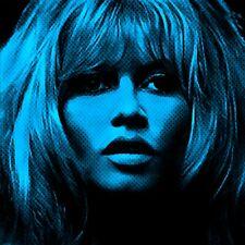 Pop Art  Motiv Brigitte Bardot 100x100 Acrylglas Bild/Loft/Druck/Porträt