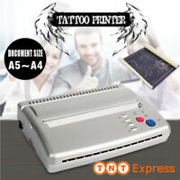 Tatouage Transfert Imprimante Tattoo Thermocopieur + 20cps Papier Transfert SET