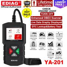 EDIAG YA201 OBD2 Scanner Code Reader Check Engine Fault Code Car Diagnostic Tool
